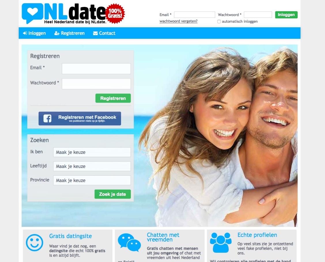 Gratis internet dating geen registratie