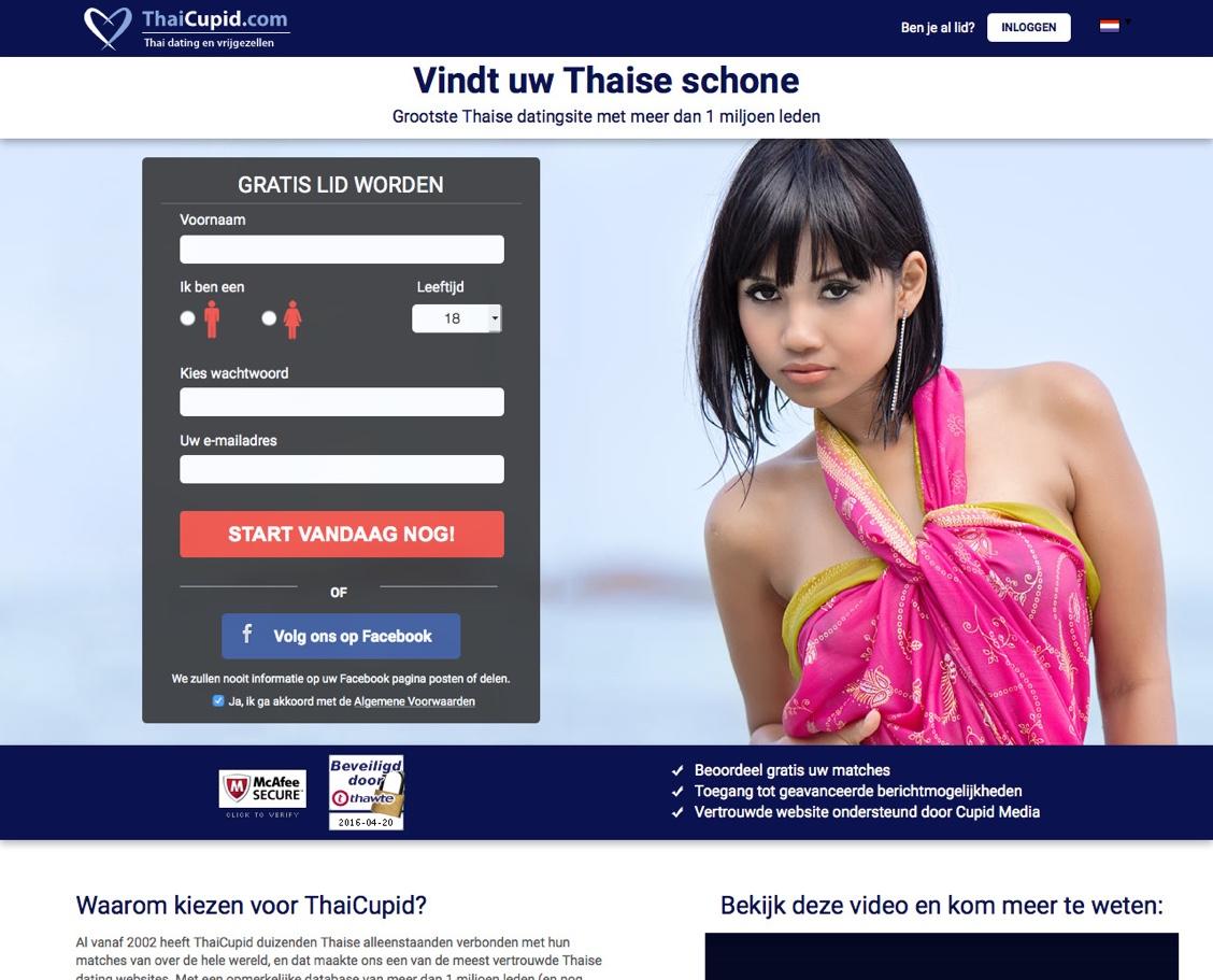 thaise vrouwen bij thai cupid